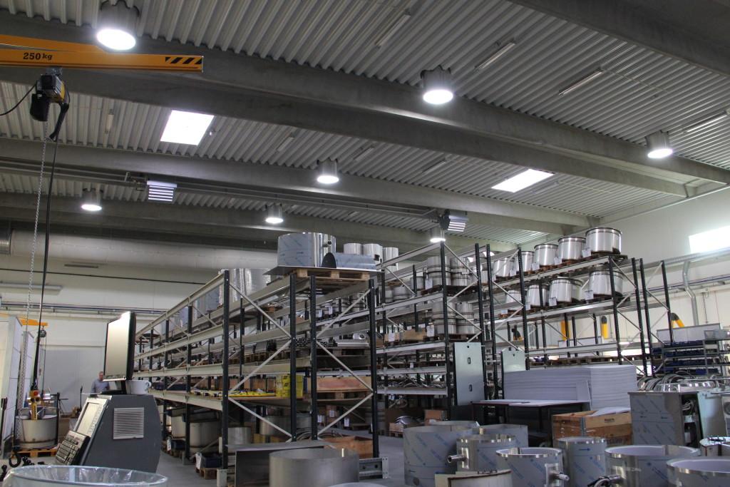 Jøni Foodline A:S Solatube, lager 2