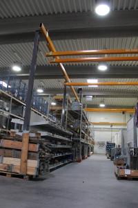 Jøni Foodline A:S Solatube, lager 3