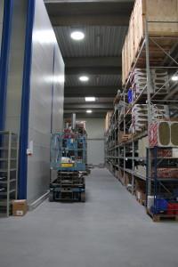 Jøni Foodline A:S Solatube, lager