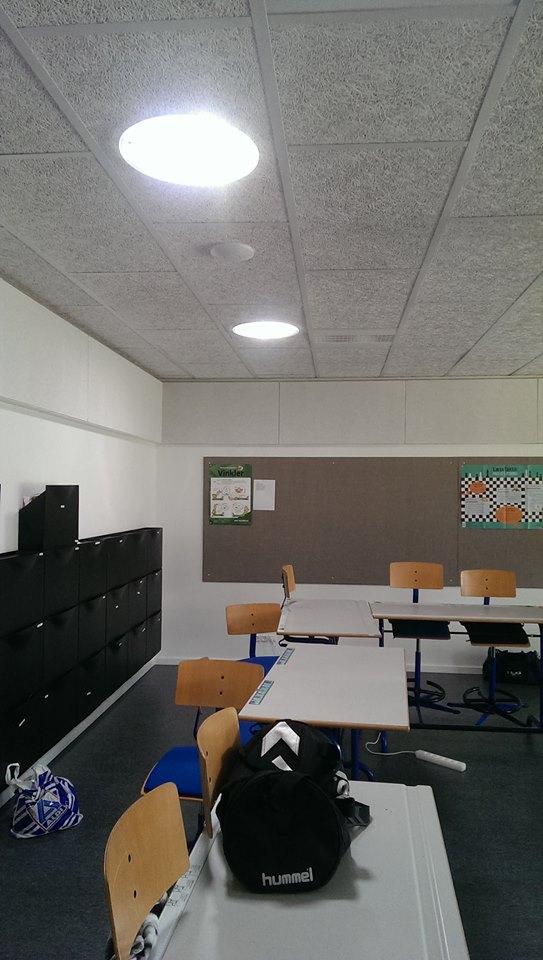 Solatube i klasseværelse